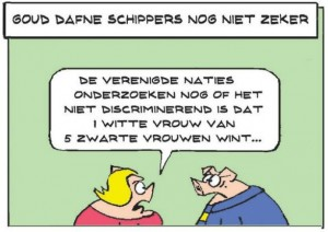 goud dafne niet zeker paul custers cartoon